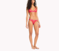 Bikini-Slip aus Spitze mit Stickerei