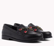 Loafer mit Juwel-Verzierung