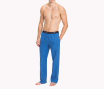 Pyjamahose aus Baumwolle mit gewebten Karomuster