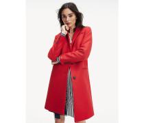 Klassischer Mantel aus Wollmix