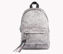 Mini-Rucksack aus Samt