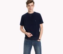 Frottee-Sweatshirt mit Kurzarm