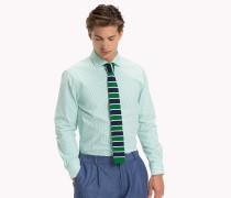 Gestreiftes Seersucker-Shirt