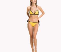 Bikinihose mit seitlichen Bindebändern