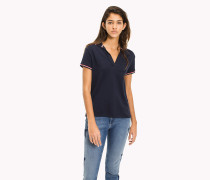 Stretch-Poloshirt aus Bio-Baumwolle