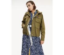 Jacke aus reinem Baumwoll-Twill