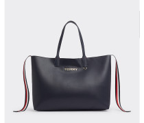Tommy Icon Tote-Bag mit Logo
