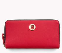 Große Chain-Brieftasche in Blockfarben