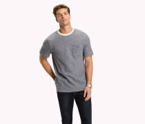 T-Shirt mit Hickory-Streifen