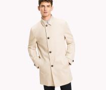 Eleganter Mantel aus reiner Baumwolle