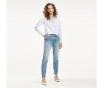 Boyfriend-Jeans mit Fade-Effekt