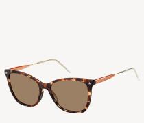 Oversize Cat-Eye-Sonnenbrille