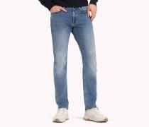 Bleecker Slim Fit Jeans mit Fade-Effekt