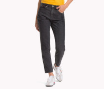 Izzy Cropped Slim Fit Jeans