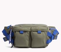 Kleine Crossbody-Bag in Kontrastfarben