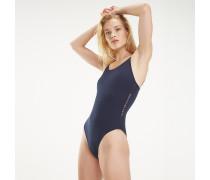 Badeanzug mit tiefem Rückenausschnitt
