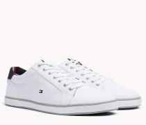 Lace-up-Sneaker aus Canvas