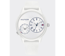 Chronograph-Armbanduhr aus Silikon