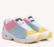 Lace-up-Sneaker in Blockfarben