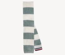 Streifen-Krawatte aus Seidenstrick