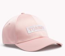 Satin-Baseball-Cap mit Logo