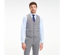 Slim Fit Anzugweste aus Schurwolle