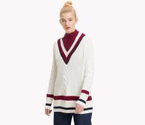 Pullover in Blockfarben