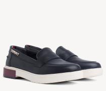 Freizeit-Loafer aus Leder