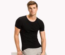 Basic-T-Shirts aus Baumwolle im Dreierpack