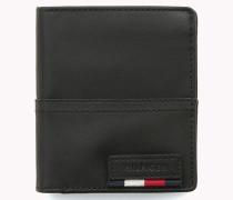 Dreifach faltbares Leder-Portemonnaie