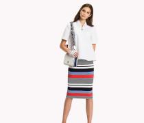 Regular Fit Bluse aus Baumwoll-Satin
