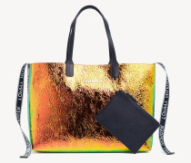 Schillernde Tommy Icon Tote-Bag