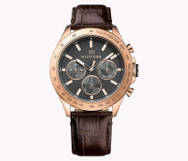 HUDSON IONIC ROSE GOLD PLATED STEEL