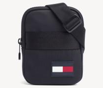 Crossbody-Tasche mit Logo-Patch