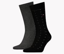 TH MEN DOT SOCK 2P