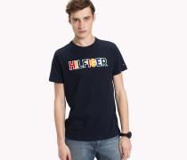 Mehrfarbiges Logo-T-Shirt