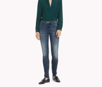 Venice Skinny Fit Jeans mit Fade-Effekt
