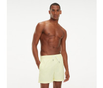 Slim Fit Badeshorts mit Tunnelzug