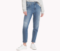 Tommy Icons Knöchellange Mom Fit Jeans