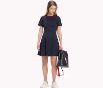 Kurzärmliges Skater-Kleid