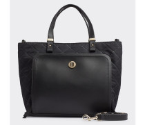 TH Elegant gesteppte Tote-Bag