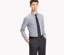 Klassisches Regular Fit Hemd mit Dobby-Effekt