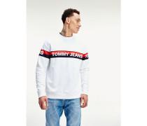 Logo-Sweatshirt mit Bio-Baumwolle