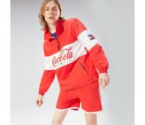 Jacke mit Coca-Cola-Logo