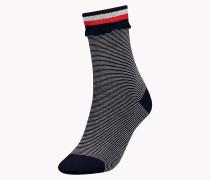 Einzelpack Socken mit Spitze und Rüschen