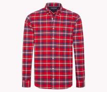 Oxford-Hemd mit Schottenkaro