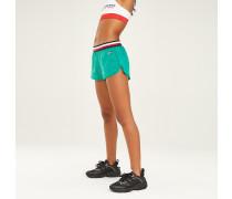 Shorts mit Tommy-Branding am Taillenbund