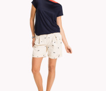 Embroidered Regular Fit Shorts