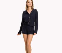 Pyjama-Playsuit mit Knopfleiste