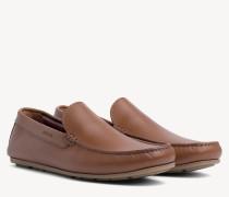 Loafer aus Glattleder